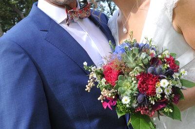 5 réalisations florales à demander à votre fleuriste pour votre mariage