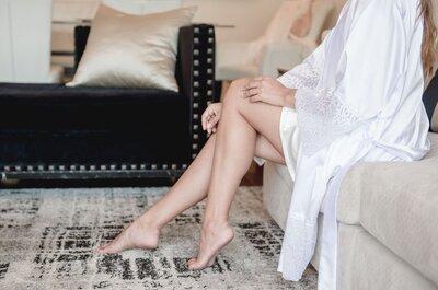 La depilación preboda: ¡Conoce los trucos para una piel perfecta antes de dar el sí!
