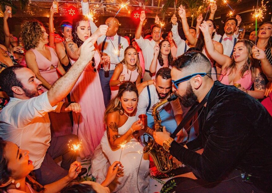 Os embalos do casamento perfeito: descubra aqui dicas para escolher as atrações musicais do seu grande dia.