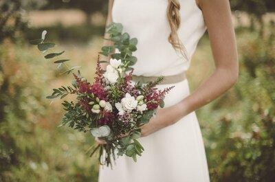 6 nuevas tendencias en ramos de novia para que tu look se vea único