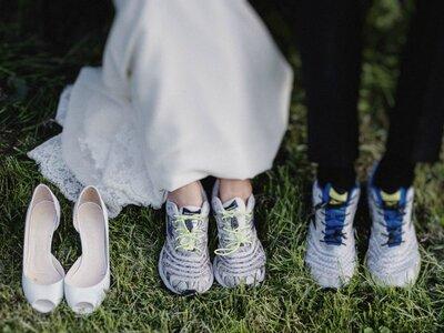 Daniela & Martin's Hochzeit an der Ostsee: Triathleten auf dem Weg zum Traualtar