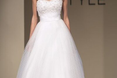 A renda como inspiração no seu vestido de noiva: 6 opções diferentes e belas