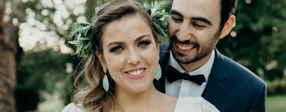 """Carla & Miguel: o """"Era uma vez uma Nortenha e um Ribatejano"""" por Ideias Vintage Fotografia"""