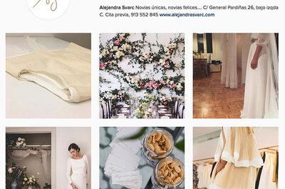 Las 25 cuentas de boda en Instagram con más estilo