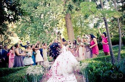 Re-styling: Sustituimos el arroz en tu boda por lavanda o confeti