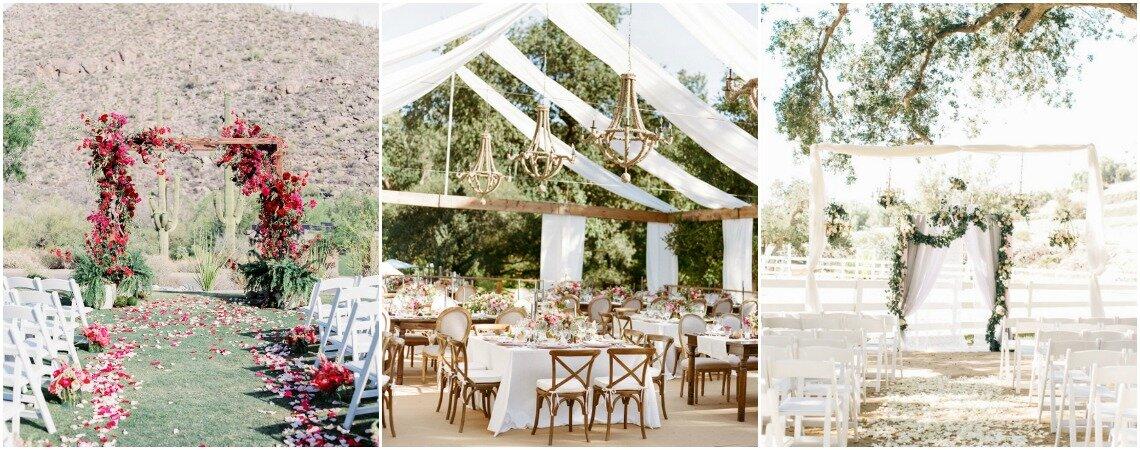 Las mejores ideas en decoración de matrimonios al aire libre. ¡Ten una ambientación inolvidable!