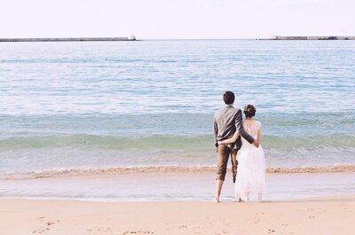 Les 11 tips pour que votre mariage sur la plage soit une véritable réussite !