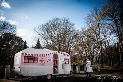 5 ideas originales para incluir una caravana en tu boda