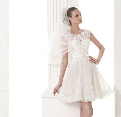 1cb2e4e82ee5 30 vestidos cortos para novias 2015: ¡descubre el estilo más chic ...