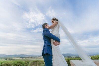 Alyne y Davi: Una pareja unida por los viajes, el vino y el amor