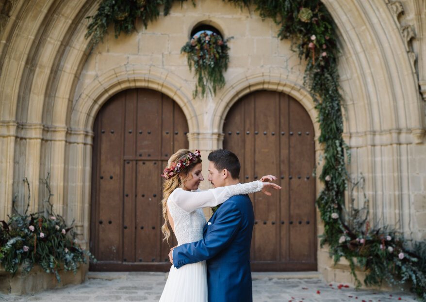 Juntos es mejor: la boda de Verónica e Iván