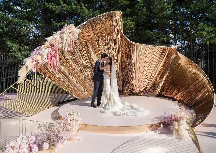 Унесенные ветром: романтичная свадьба Ланы и Дениса