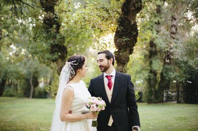Es tiempo de vals: la boda de Adri y Carlos