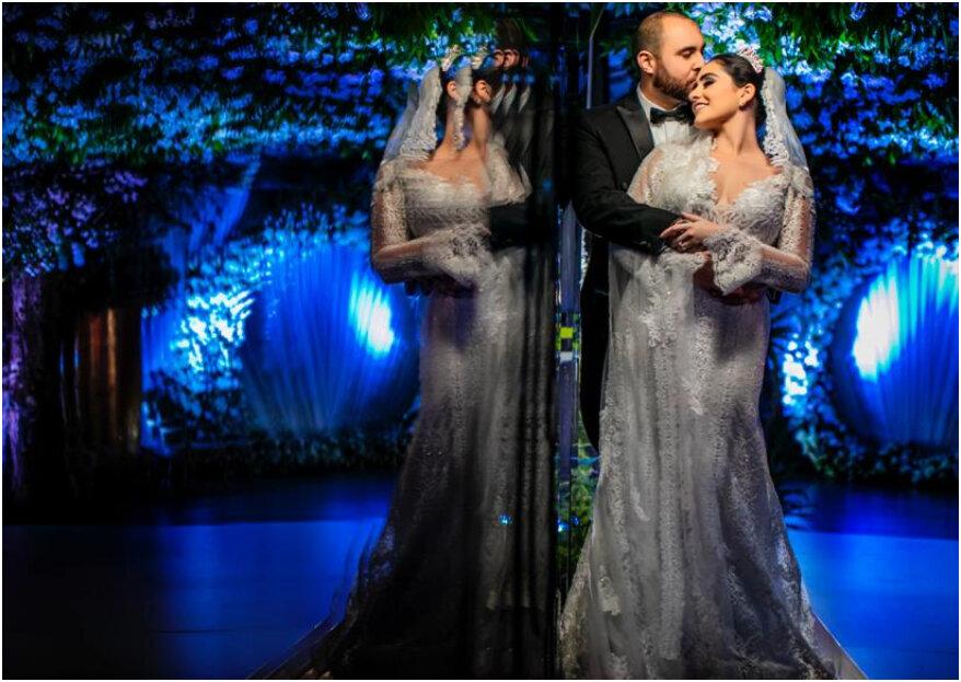Claudia y Bashir: ¡una majestuosa boda inspirada en el buen gusto y el amor!
