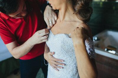 Emilio Salinas: vestidos para novias e invitadas únicos y a medida ¡Conócelo en esta entrevista!