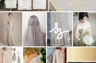 El toque retro con mucho estilo: Las ideas que necesitas para una boda inspirada en art decó