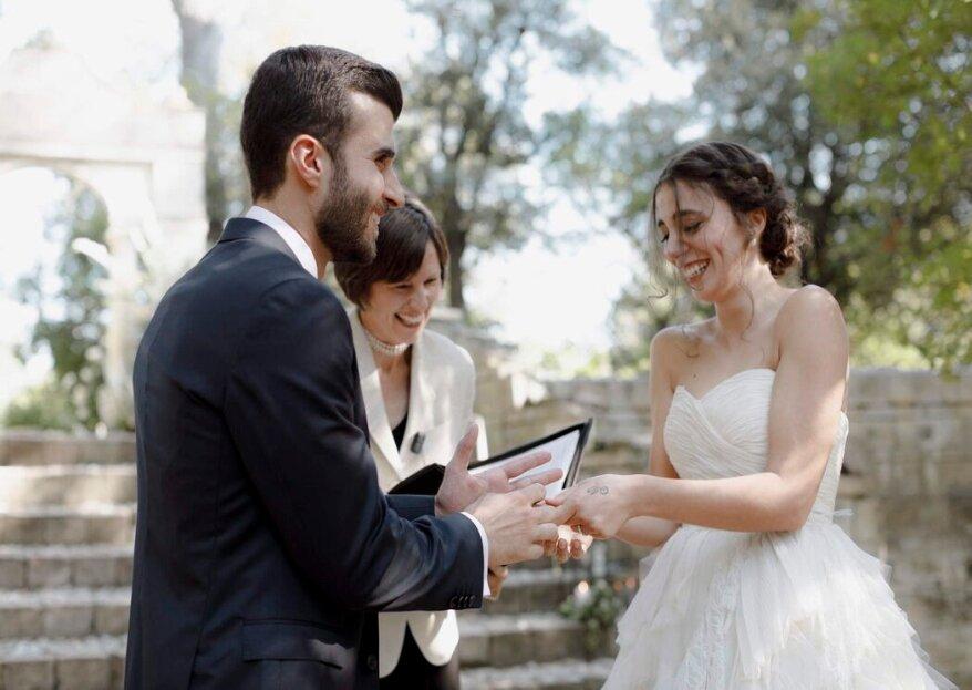 Passaggi costruirà per voi una cerimonia nuziale dedicata ed indimenticabile