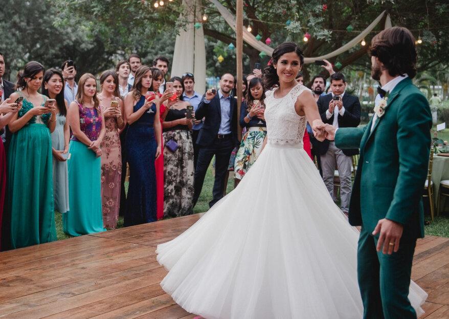 Protocolo para el primer baile de casados: tips para que los novios triunfen en la pista