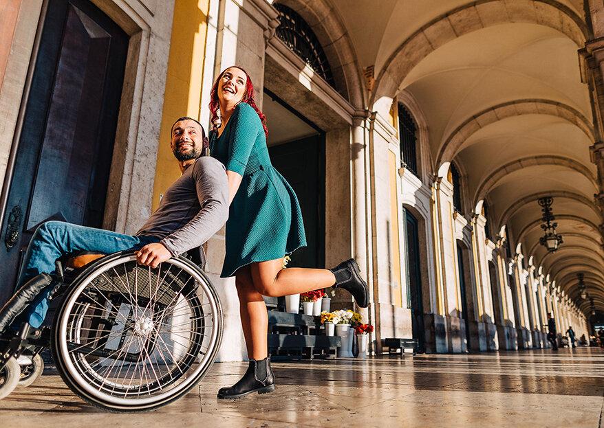 Two+Us Weddings: um projeto solidário que oferece um casamento de sonho a um casal inspirador