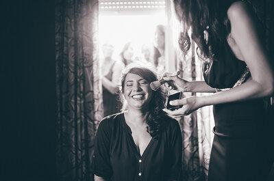 Conoce las etapas de inicio a fin de un maquillaje profesional para novia