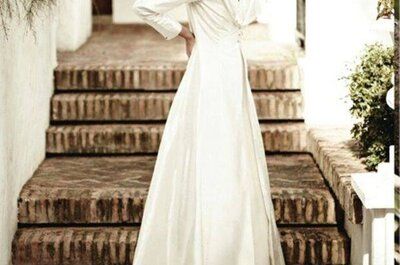 Vestidos de noiva (muito) low cost: estilize com acessórios