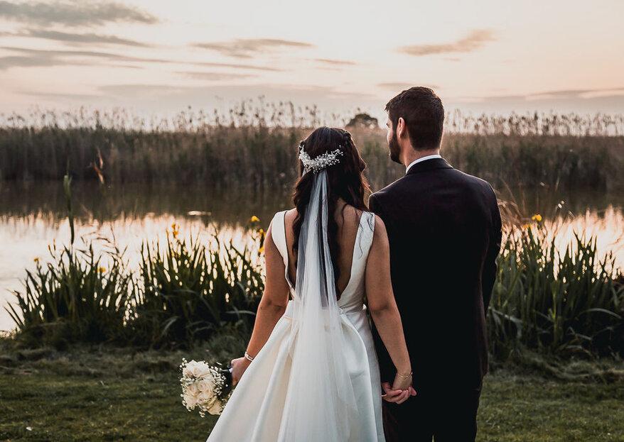 Disfruta de la luz y de la naturalidad en las fotos de boda de Santiago Cuéllar