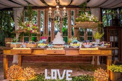 5 estilos diferentes de casamento para quem não quer uma festa igual a de todo mundo!