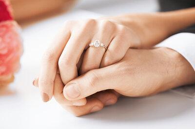 Cómo limpiar tu anillo de compromiso. ¡Manténlo como nuevo!