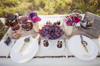Menú saludable para tu boda: 4 claves para ideas maravillosas