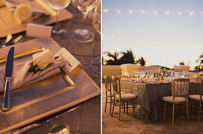 Zankyou te ayuda a organizar las mesas de los invitados a la boda