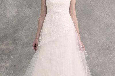 Schlicht und romantisch: Brautkleider von Jenny Yoo