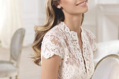 Vestidos de novia pensados para las chicas de mucho busto: Te vas a enamorar de sus confecciones