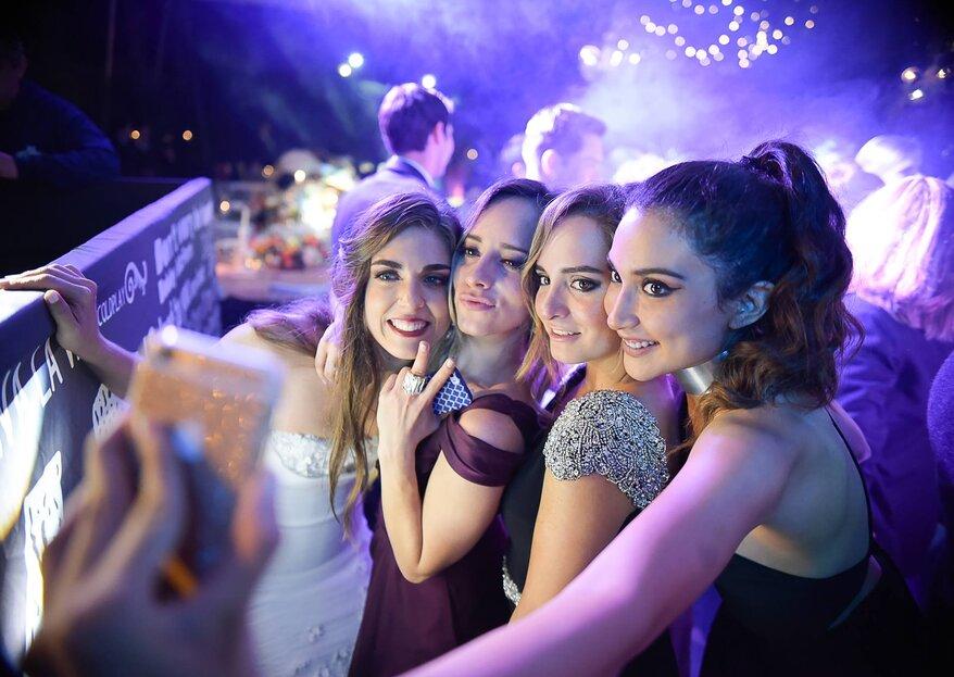8 cosas súper divertidas que debes hacer con tus damas antes del gran día