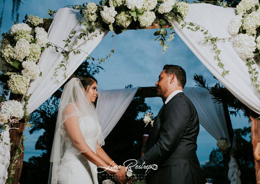 Una boda en el Eje Cafetero con Lina Restrepo Wedding Planner