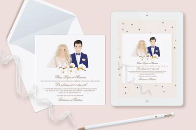 Как выбрать зимние свадебные приглашения. 3 подсказки от Zankyou!