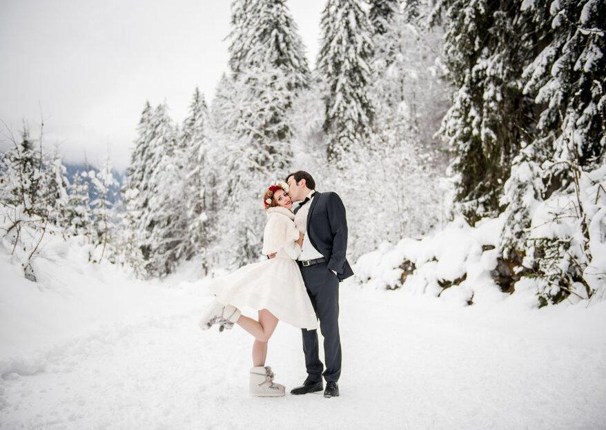 Les plus beaux mariages trouvés sur Instagram et inspirés par Noël