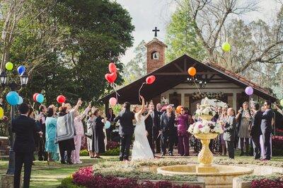 Haciendas con capilla en Bogotá: ¡Las mejores para tu boda!