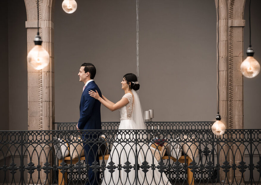 Congela los momentos más felices de tu boda con estos profesionales