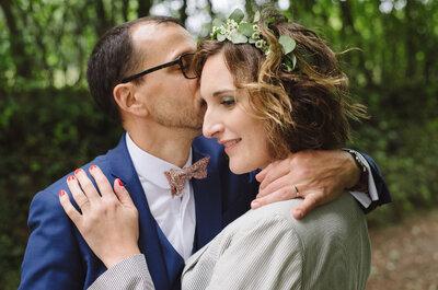 Sandrine et Nicolas : un mariage fluo et original, surtout quand la robe de mariée est signée Manoush