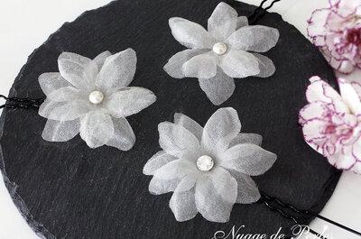 Les dernières créations de Nuage de perles: bijoux et accessoires de coiffure sont au rendez-vous!