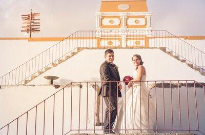 Adriana & João: um amor construído de cumplicidade, alegria e amizade!