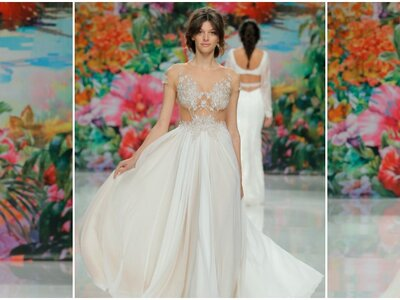 Descubre los detalles exquisitos de los vestidos de novia de Galia Lahav 2017