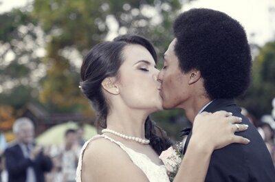 La boda de Tati y Junior: ¡la celebración del amor joven!