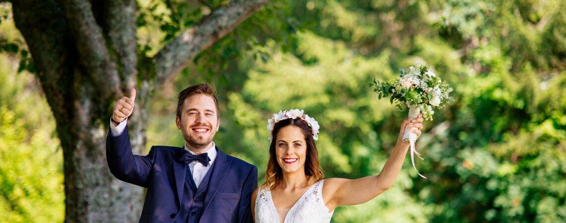 Hochzeitsshooting im Schwarzwald – Inspirationen der Extraklasse!