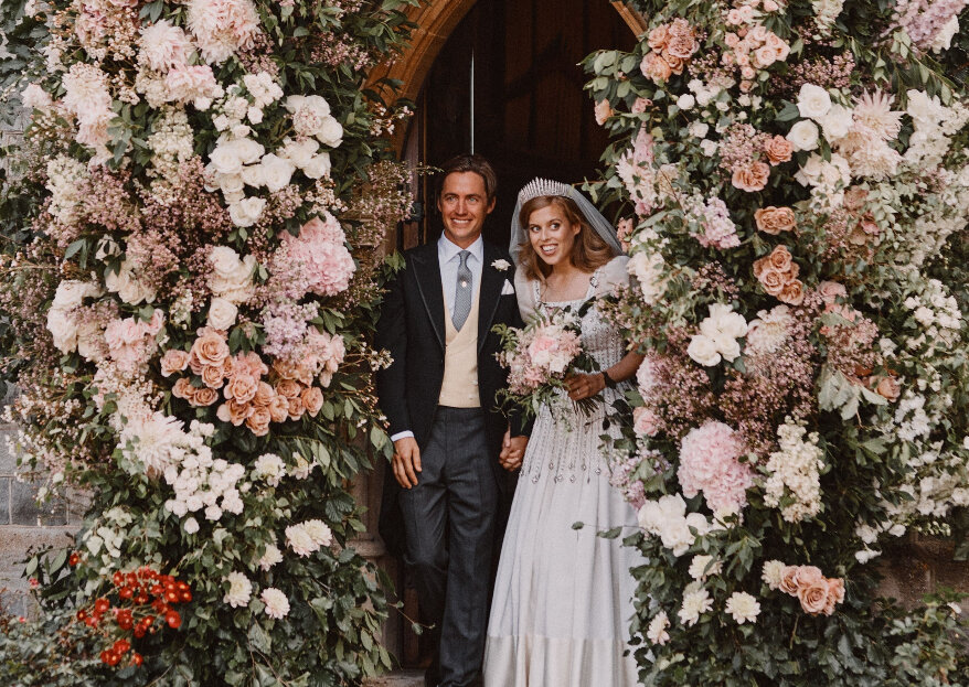 O casamento de Princesa Beatrice & Edoardo Mapelli Mozzi: as fotos!