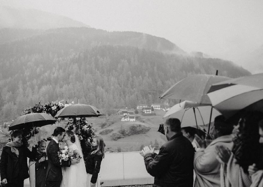 Интернациональная свадьба Доминика и Ксюши в Зёльдене