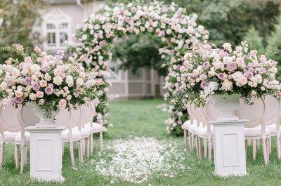 10 лучших свадебных студий флористики и декора в Санкт-Петербурге