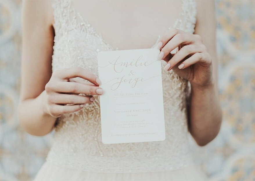 As 30 frases mais românticas para os convites do seu casamento!