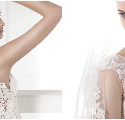 e15da9509 Descubre la propuesta de Pronovias  vestidos de novia con bordados para  este 2015