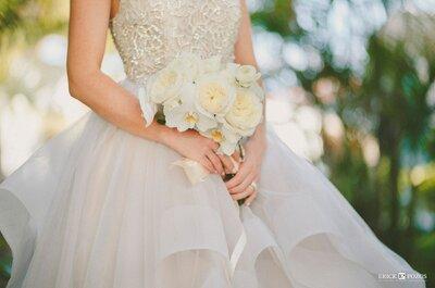 Cómo combinar tu vestido con el ramo de novia: ¡Los mejores consejos!